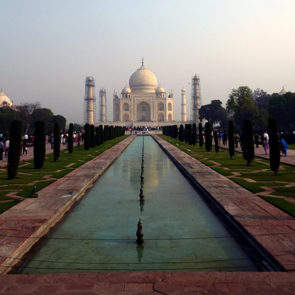 Állványzatos-epikus Taj Mahal